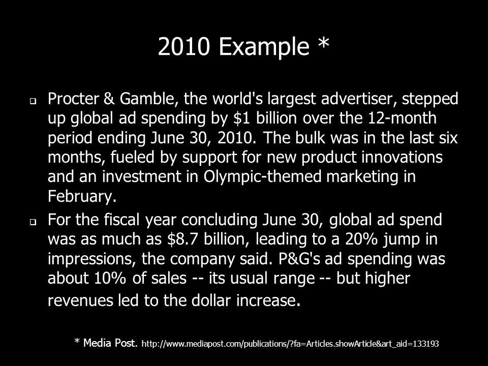 2010 Example *