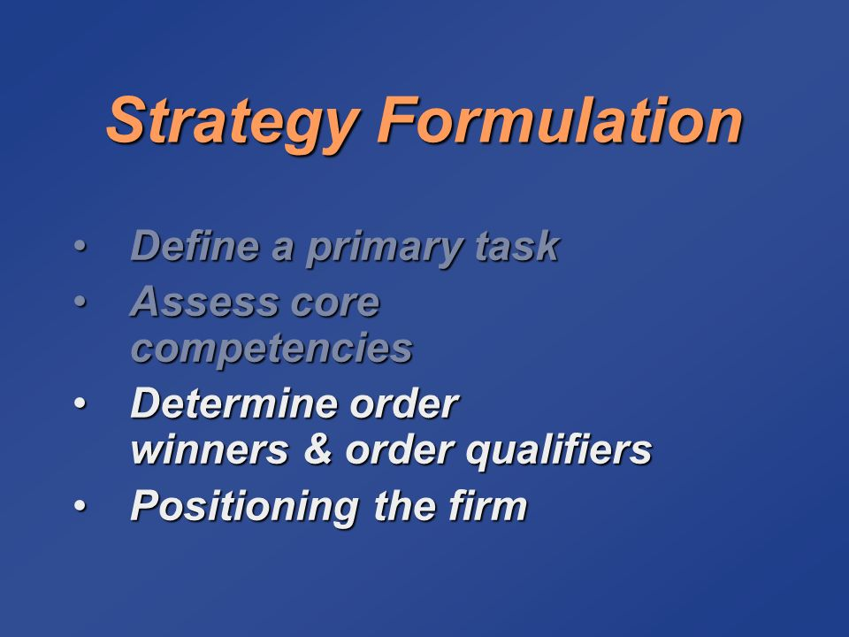 strategy formulation of southwest airlines Southwest airline strategic management process southwest airline strategic management process introduction in 2006 southwest airlines marked its 34th consecutive year of profitability.