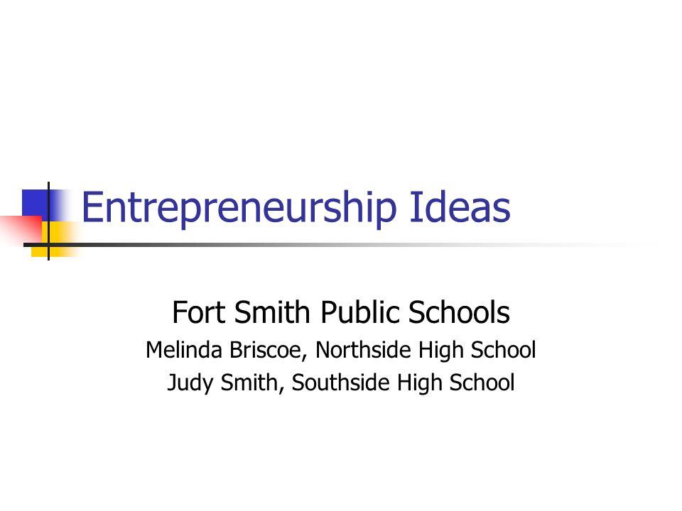 Entrepreneurship Ideas