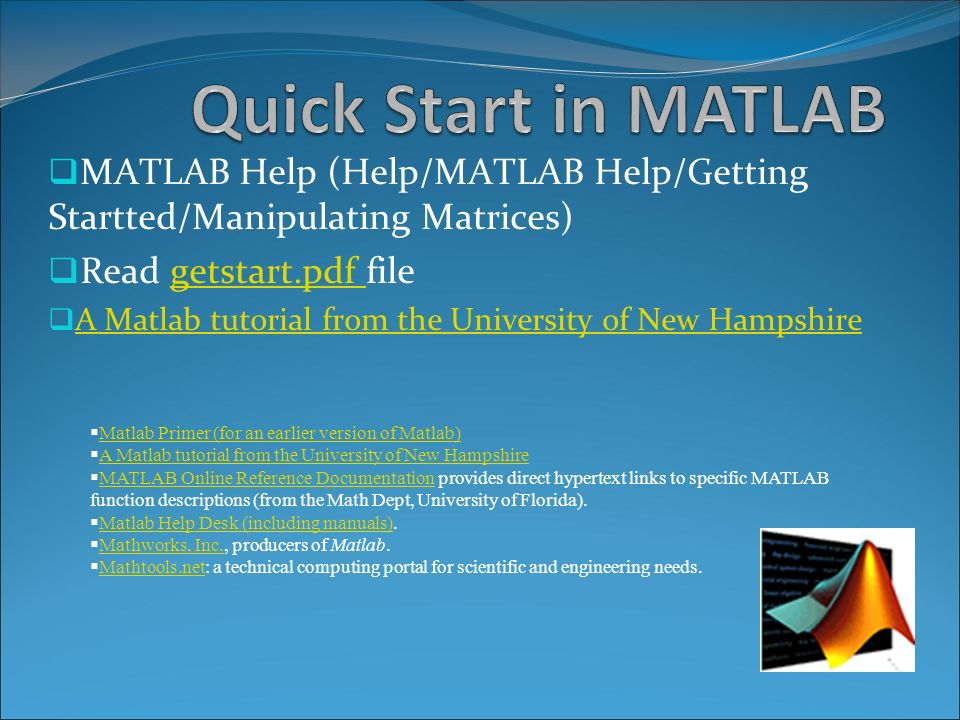 pde toolbox the partial differential equation toolbox is a matlab quick start in matlab matlab help help matlab help getting startted manipulating