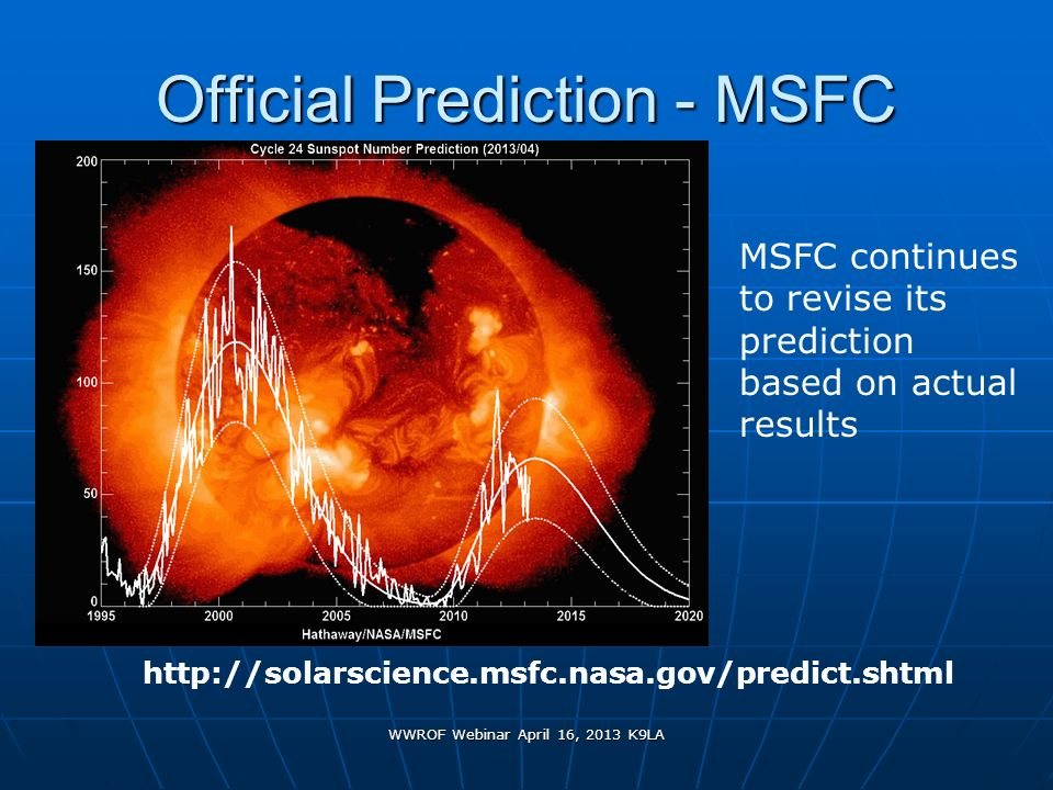 Official Prediction - MSFC