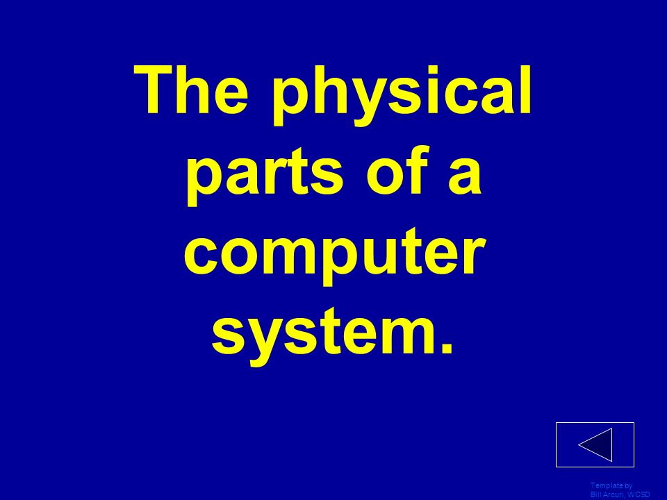 The physical parts of a computer system.