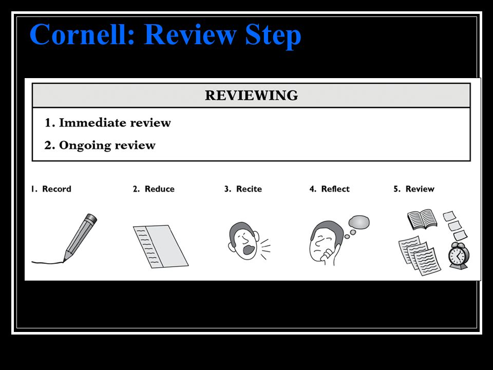 Cornell: Review Step