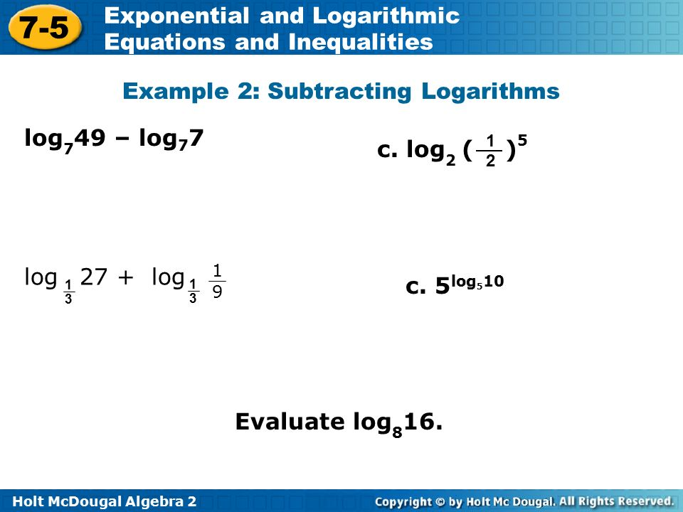 Exponential And Logarithmic Equations And Inequalities Worksheet – Logarithmic Equations Worksheet