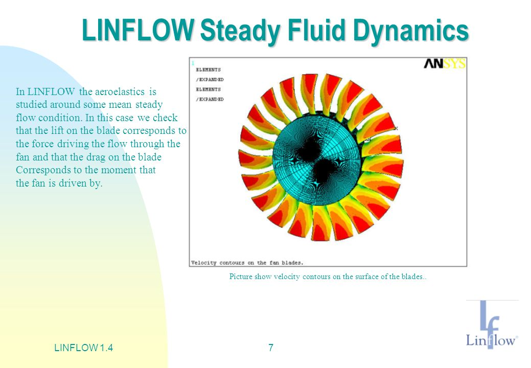 LINFLOW Steady Fluid Dynamics