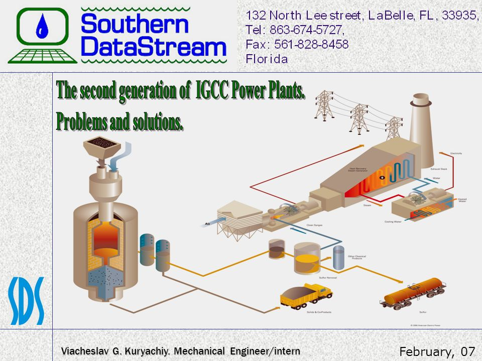 The second generation of IGCC Power Plants. Problems and solutions.
