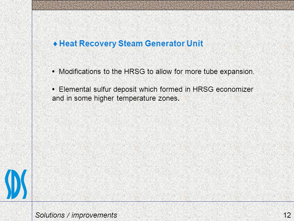Heat Recovery Steam Generator Unit
