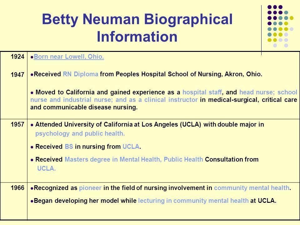 betty neuman biography