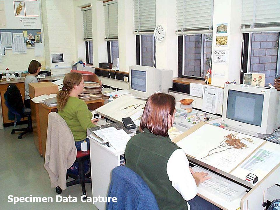 Specimen Data Capture