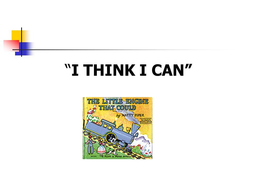 I THINK I CAN 5