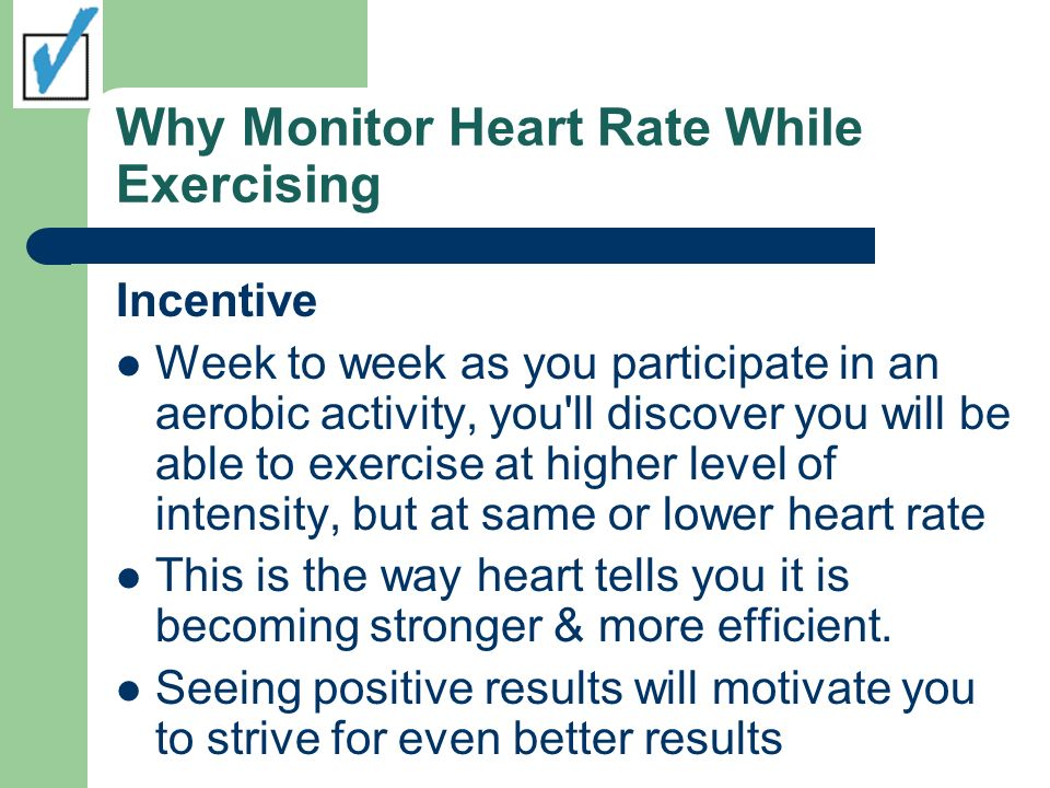 Why Monitor Heart Rate While Exercising