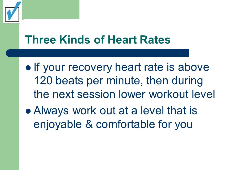 Three Kinds of Heart Rates