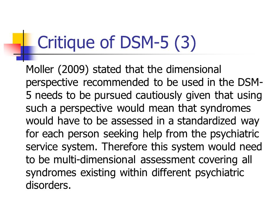 Critique of DSM-5 (3)