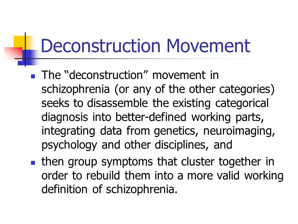 Deconstruction Movement