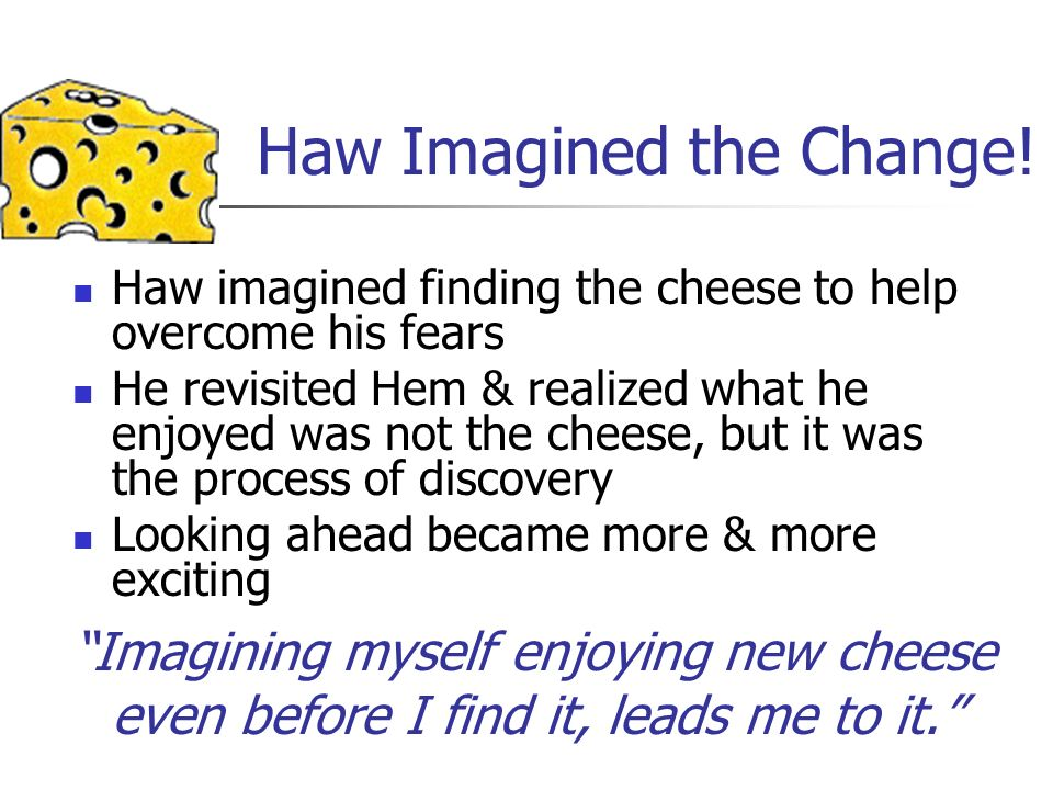 Haw Imagined the Change!