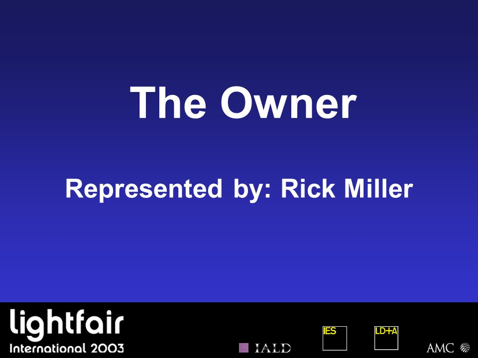 Represented by: Rick Miller