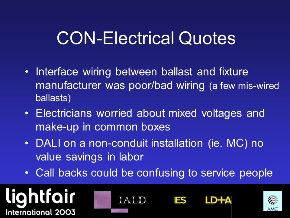 CON-Electrical Quotes