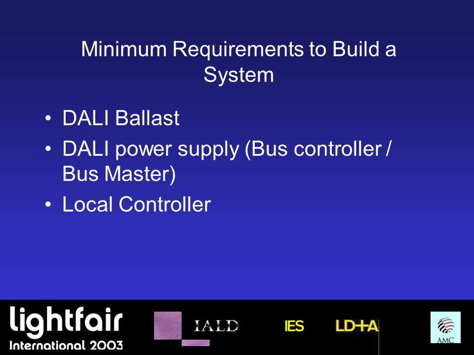 Minimum Requirements to Build a System