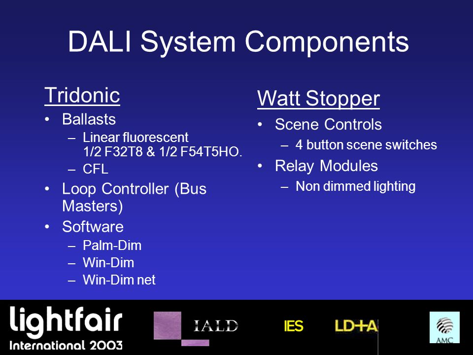 DALI System Components