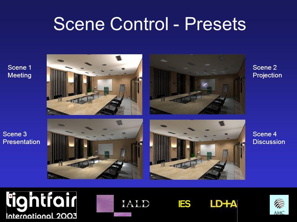 Scene Control - Presets