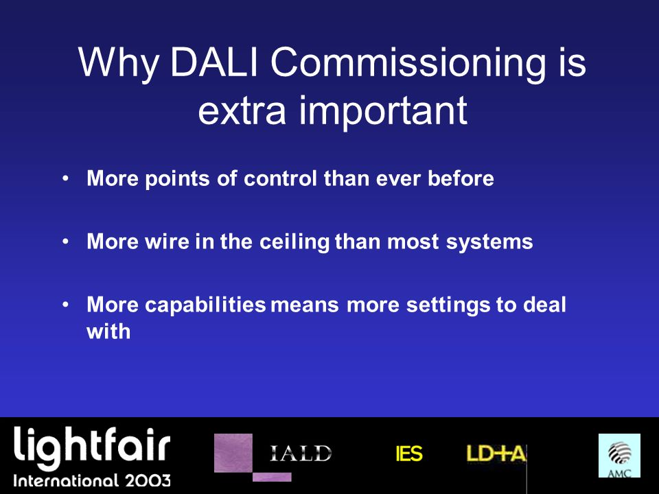 Why DALI Commissioning is extra important