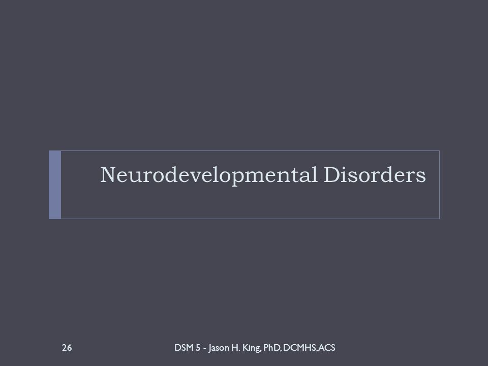 neurodevelopmental disorders autism dsm 5 pdf