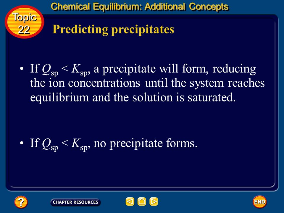 Predicting precipitates
