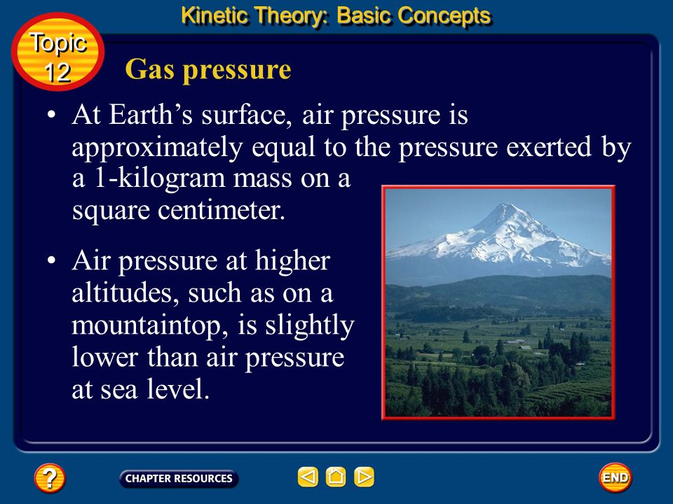 a 1-kilogram mass on a square centimeter.