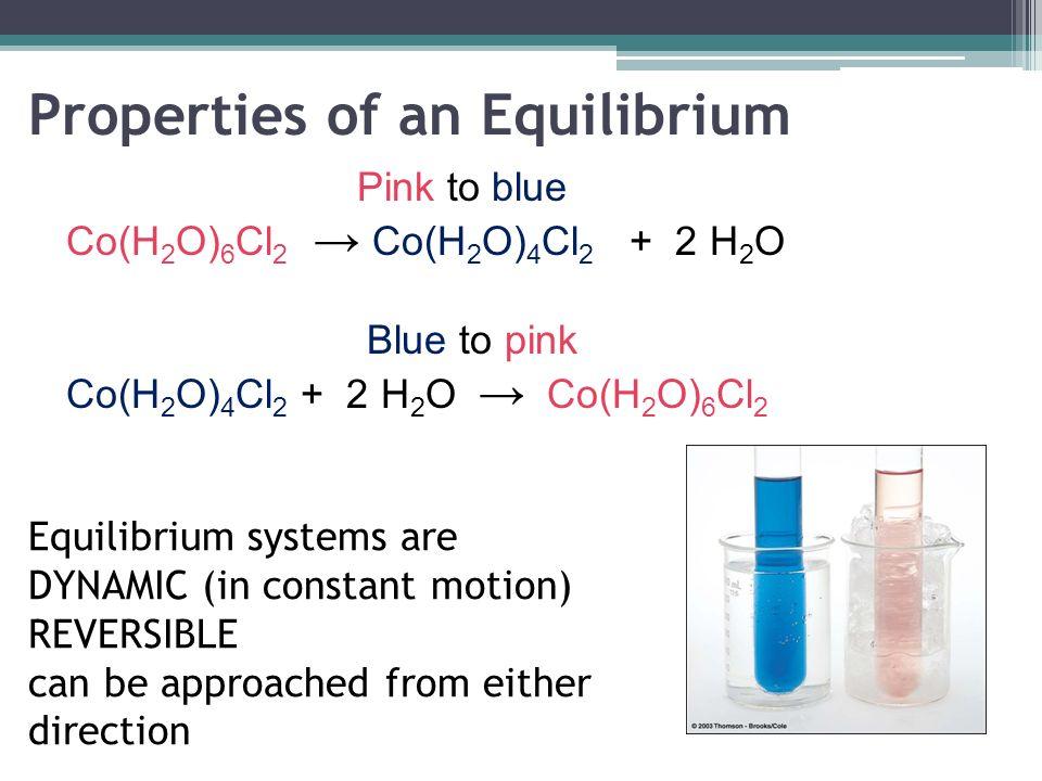 Properties of an Equilibrium