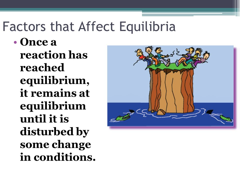 Factors that Affect Equilibria
