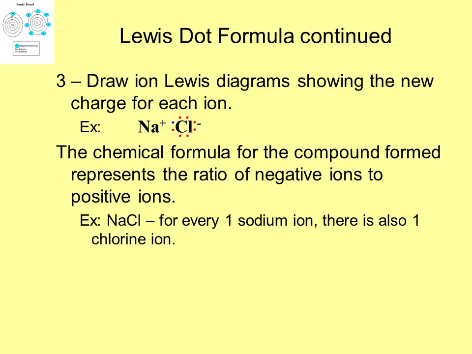 Lewis Dot Formula continued