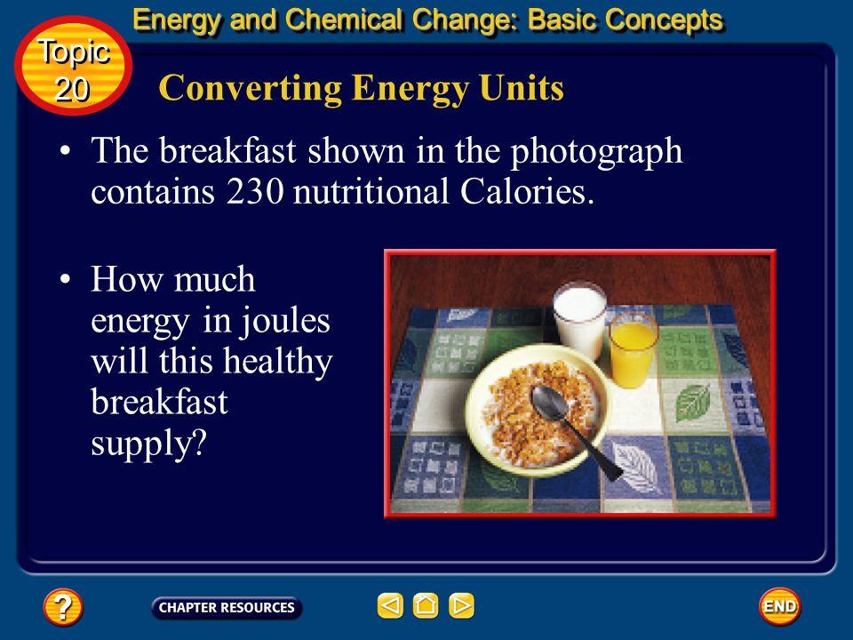 Converting Energy Units