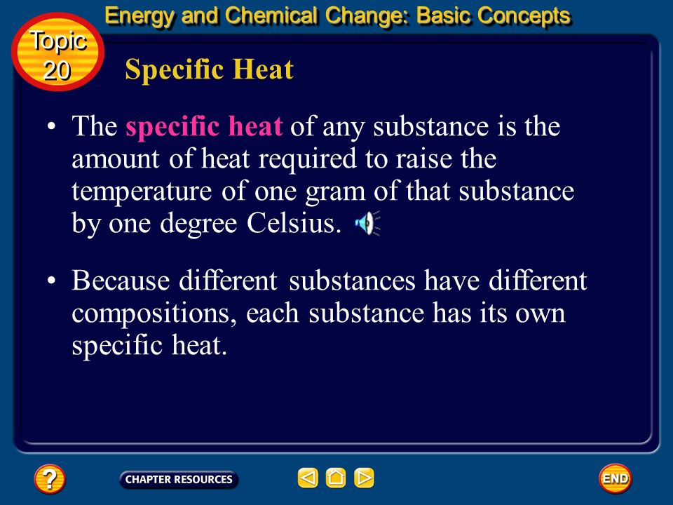 Energy and Chemical Change: Basic Concepts