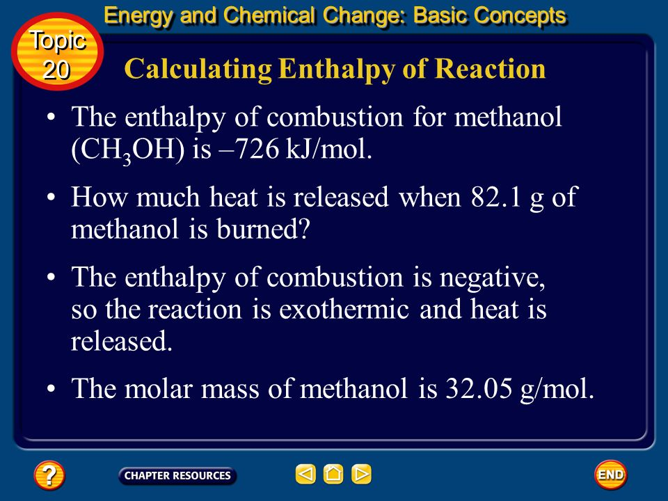 Calculating Enthalpy of Reaction
