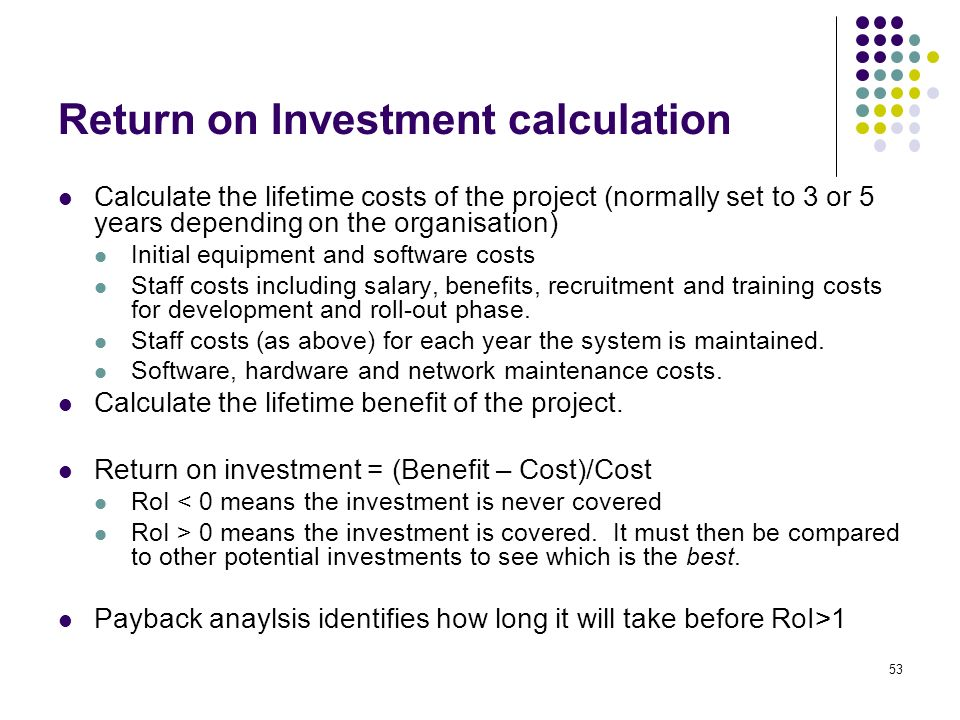 how to find rate of return on investment