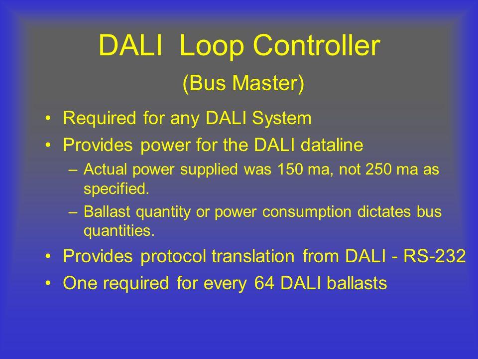 DALI Loop Controller (Bus Master)