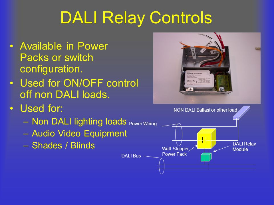 DALI+Relay+Controls+Available+in+Power+Packs+or+switch+configuration. brian liebel, pe, lc afterimage s p a c e ppt download watt stopper multi power pack wiring diagram at readyjetset.co