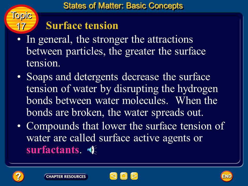 States of Matter: Basic Concepts