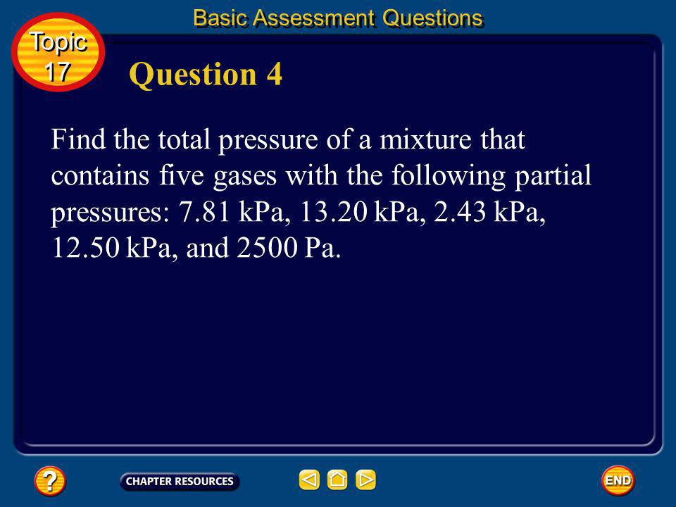 Basic Assessment Questions