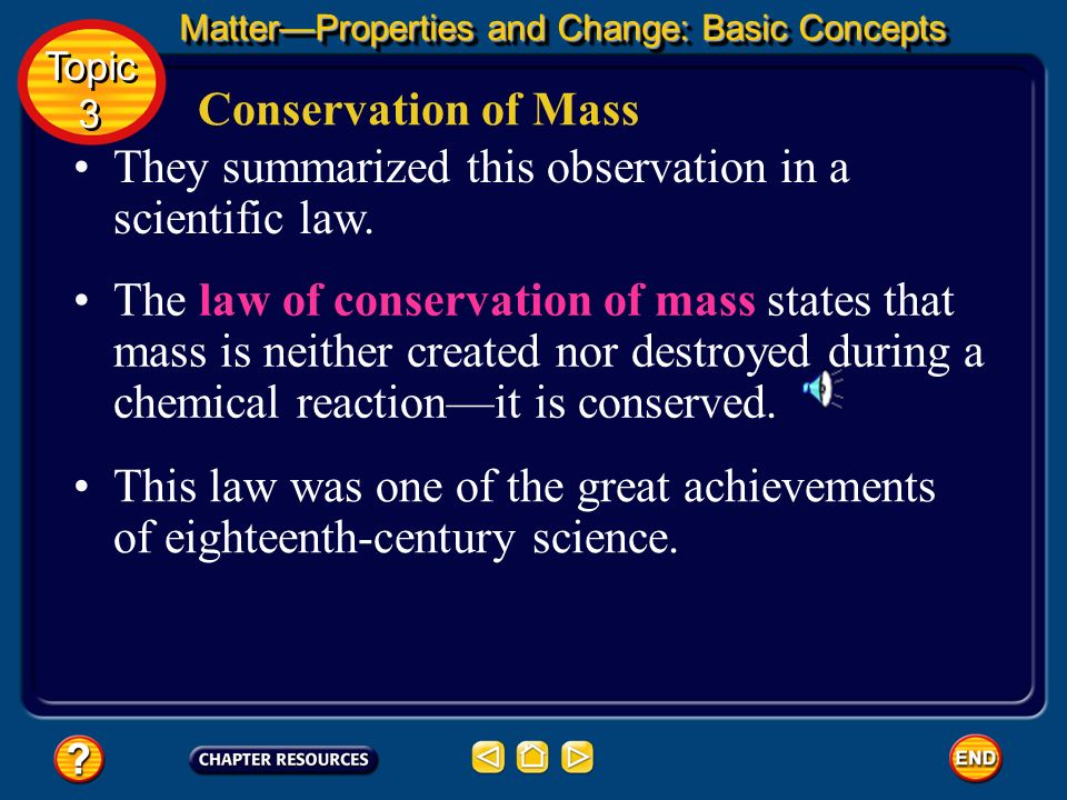 They summarized this observation in a scientific law.