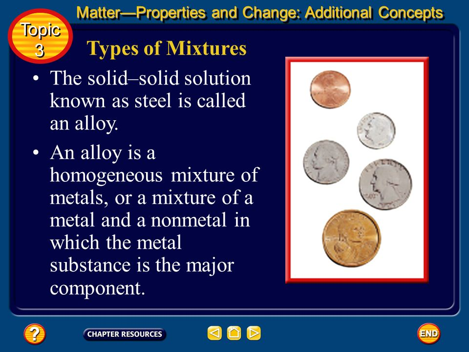The solid–solid solution known as steel is called an alloy.
