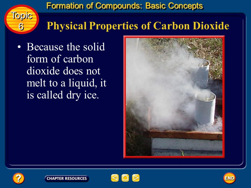 Physical Properties of Carbon Dioxide