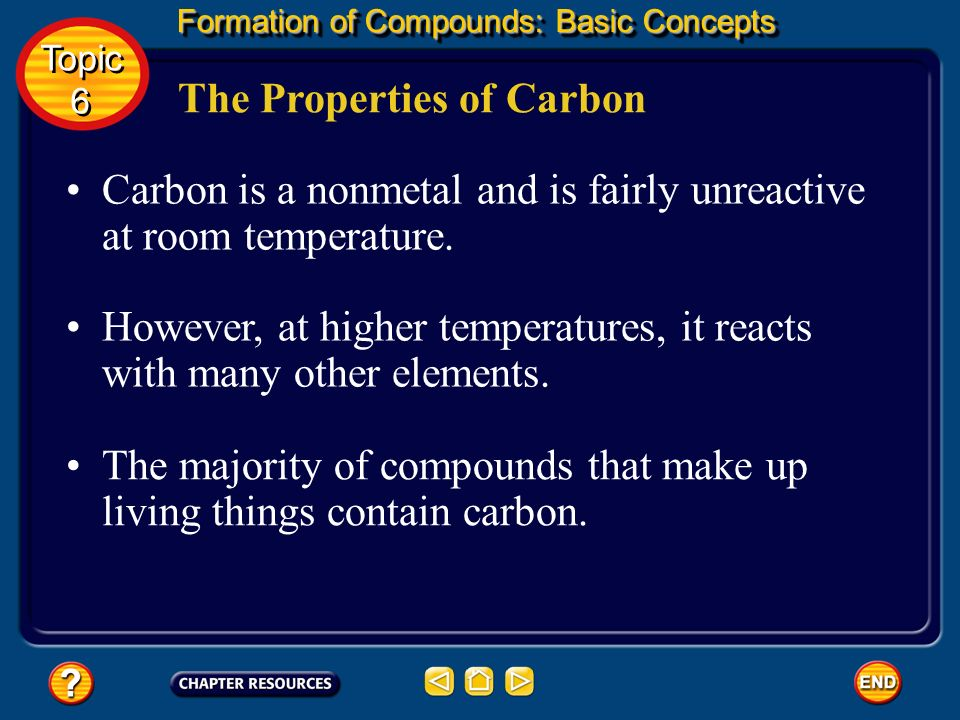 The Properties of Carbon