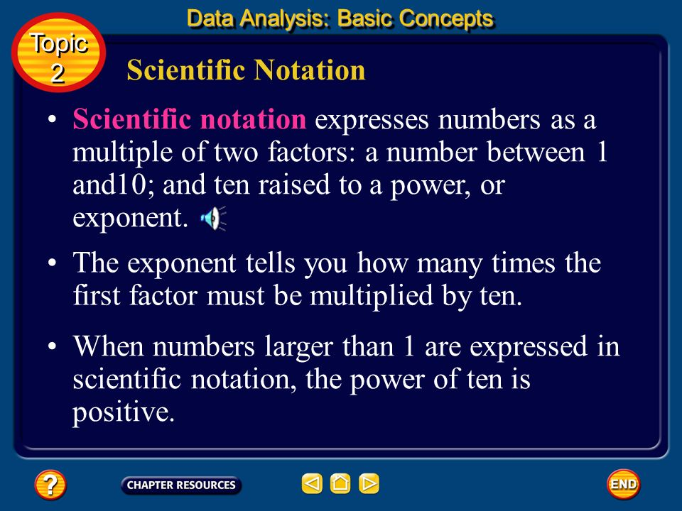 Data Analysis: Basic Concepts