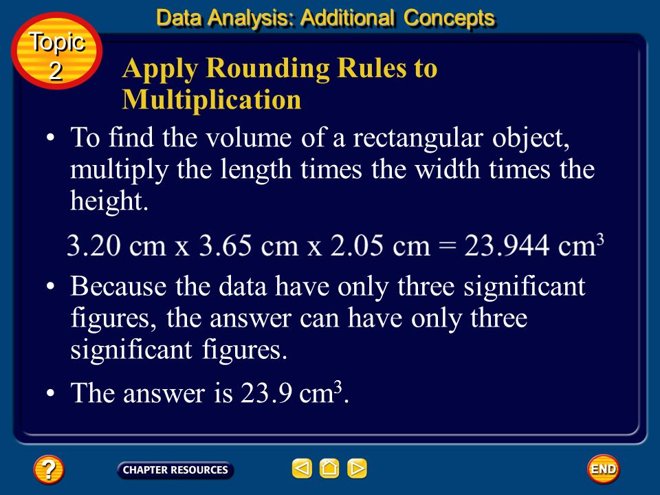 Apply Rounding Rules to Multiplication