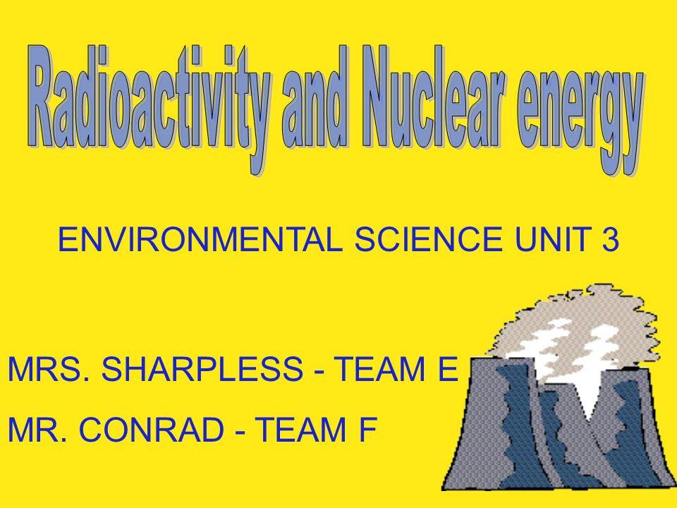 ENVIRONMENTAL SCIENCE UNIT 3