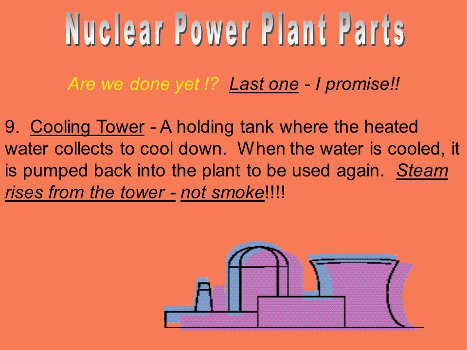 Nuclear Power Plant Parts