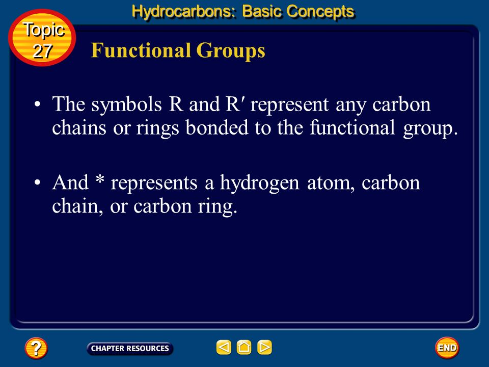 And * represents a hydrogen atom, carbon chain, or carbon ring.