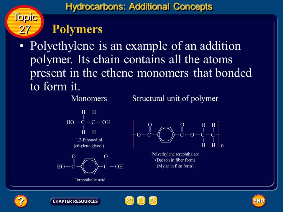 Hydrocarbons: Additional Concepts