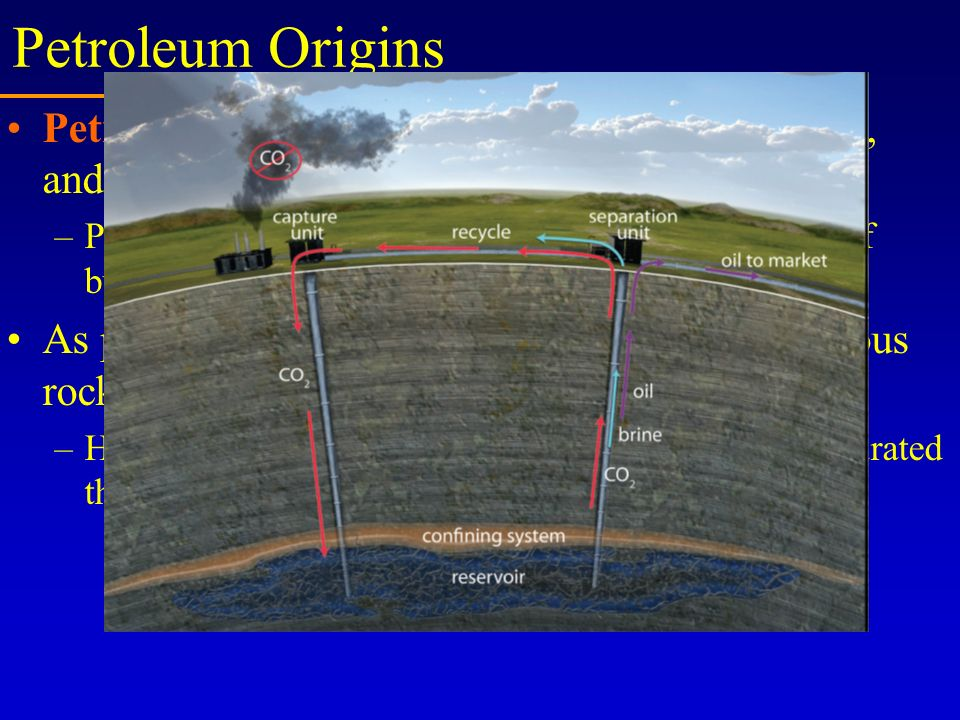 Petroleum Origins Petroleum is a mixture of alkanes, cycloalkanes, and aromatic hydrocarbons.